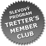 SLEVOVÝ PROGRAM TRETTER'S MEMBER CLUB